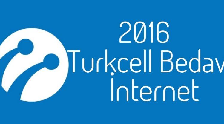 Turkcell Bedava İnternet 2016