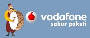 Vodafone Sahur Paketi